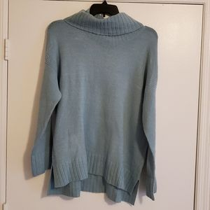 The Limited Green Cowl Neck Sweater XL